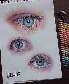 eye illustration, art tips, pencil drawings, eye drawings, art inspo Art And Illustration, Illustrations, Pencil Drawings, Art Drawings, Realistic Eye Drawing, Drawing Eyes, Eye Study, Desenho Tattoo, Color Pencil Art
