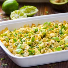 Cilantro, Lime, Avocado Cauliflower Recipe. 3/5. Have to be in the mood for it, probably.