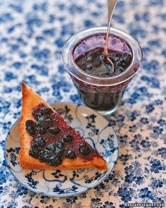 Blueberry Jam Recipe. Great to make with Kids!