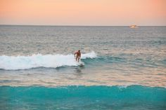 Sunrise surfing in Cabo San Lucas, Mexico.