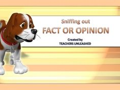 This 26 slide PowerPoint presentation will help your students master the difference between fact and opinion.