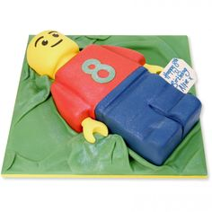 Emmet Lego Man Cake delivered in London Toddler Birthday Cakes, Lego Birthday Party, Man Birthday, Birthday Ideas, Birthday Parties, 11th Birthday, Lego Man Cake, Emmet Lego, Cakes For Boys