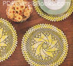 Crochet For Free: Vintage Pinwheel Doily