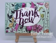 The box of goodies was amazing and I was anxious to do the best job possible for Stampin' Up!® and my fellow demonstrators attendin. Love Cards, Thank You Cards, Happy Birthday Gorgeous, One Sheet Wonder, Stampin Up Catalog, Ppr, Beautiful Handmade Cards, Stamping Up, Craft Items