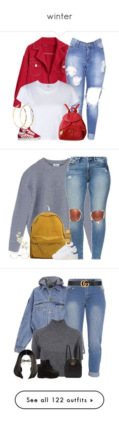 """winter"" by g-goldy ❤ liked on Polyvore featuring RE/DONE, Christian Dior, Vans, GUESS by Marciano, Acne Studios, adidas, Casio, Pier 1 Imports, Fear of God and Carven"