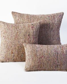 perfect neutral to go with any couch and any room... i want now~  The Global Market Pillow by HomeMint.com, $54.99