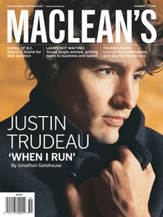 Justin Trudeau (Prime Minister of Canada) circa 1997