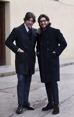 Italian men. Italian style. Be still my heart.