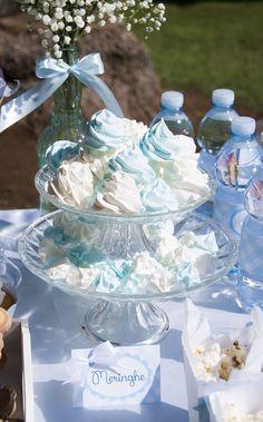 baby boy meringues