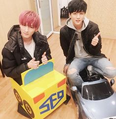 Zuho and Young Bin