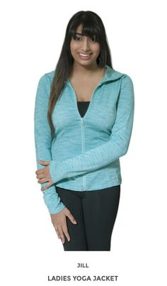 Jill Yoga activewear offers the latest in quality, fashionable yoga and activewear all at great prices! Ladies Yoga, Yoga Wear, Spring Summer 2015, Active Wear For Women, Stylish, Lady, How To Wear, Jackets