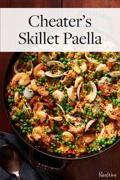 Cheater's Skillet Paella via @PureWow