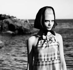 The W Magazine Heavenly Creatures Photoshoot is Eerie trendhunter.com