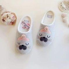 Cotton Cute Penguin Animal Pattern <b>Home Slippers Women</b> Indoor ...