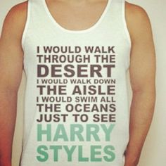 This shirt except for it to say one direction instead of harry styles