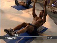 ab ripper p90x! Do-able but a challenge! I'm sweating!