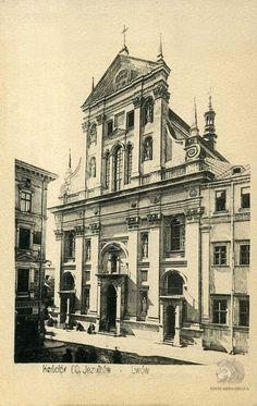 Открытка Львов — костел св. Петра и Павла иезуитов