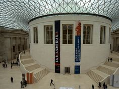 British Museum Reading Room | London, England  Beautiful Libraries