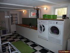Tvättstugan nästan klar! - Ett inredningsalbum på StyleRoom