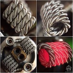 """A few shots put together of last nights build... #vape #vaper #vapor #vaping…"