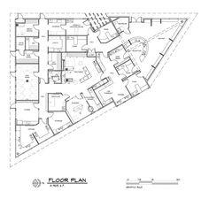 Woodhaven Veterinary Clinic, Edmonds, Wash. - 2014 #Veterinary Economics Hospital Design Supplement - Floor plan - dvm360