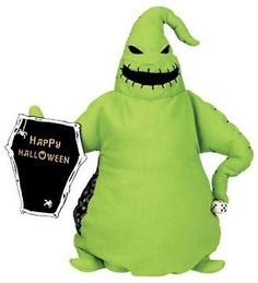 *OOGIE BOOGIE ~ The Nightmare Before Christmas... reversible plush