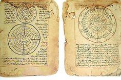 Islamic Manuscript on mathematics and astronomy