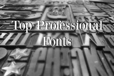 If you want to add a touch of professional looking flair to your business card or other promotional design work, check out some of the top professional fonts that you should be using in your graphic design work. #NYC #Advice #Business #Branding #Advertisement #Design #GraphicDesign #Project #Inspiration #Tips #Free #Fonts