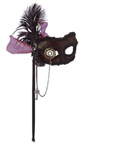 Not enough people make steampunk masks. This should be more of a thing.