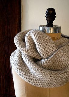 Classic cowl - purl soho - free pattern - worsted
