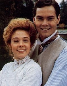 Anne Shirley and Gilbert Blythe. The love story that I grew up with. I truly felt as if I was invested in their lives.