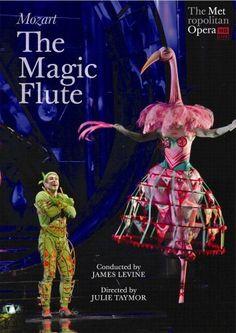 Wolfgang Amadeus Mozart - The Magic Flute (The Metropolitan Opera HD) DVD ~ Julie Taymor, Brian Davis, Julie Taymor, The Magic Flute, Mozart, Metropolitan Opera, Ballet, Teaching Music, Concert Posters, Costume Design