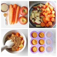 Apple carrot quinoa baby food recipe