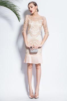 Gorgeous Beige Work Dresses