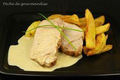 Roast pork with camembert sauce - Rôti de porc sauce au camembert - Péché de gourmandise