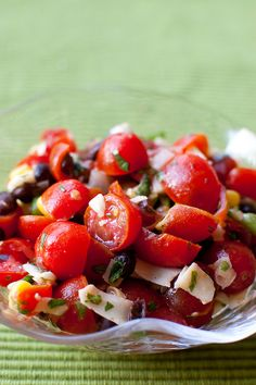 Mexican Cherry Tomato Salad - Pink Parsley