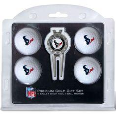 Team Golf Houston Premium Golf Gift Set