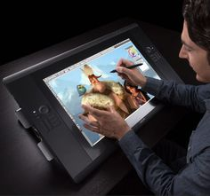 Cintiq 24HD Touch by Wacom