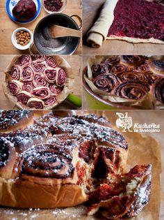 Kuchařka ze Svatojánu: Červená řepa Beet Recipes, Cake Recipes, Healthy Recipes, Healthy Food, Red Beets, Waffles, French Toast, Brunch, Baking