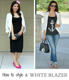Summer Staple: Styling a White Blazer