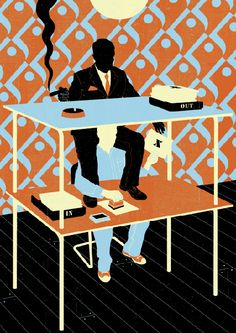 Área Visual: Las ilustraciones vectoriales de Neil Webb