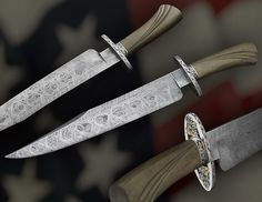 Knife Rights - Freedom's Steel™ IV - The Jefferson Bowie - Knife Rights' Collaboration Benefiting NRA-ILA!
