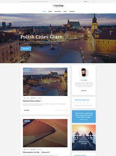 Traveler WordPress Theme wordpress website template