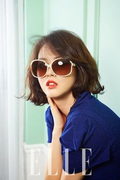 Go Ara - Elle Magazine April 2014