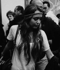 Loved her long hair