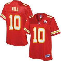Tyreek Hill Kansas City Chiefs NFL Pro Line Women's Player Jersey - Red