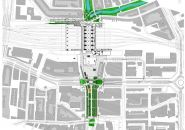 rotterdam centraal station redeveloped by team CS Central Station, Rotterdam, Wind Turbine, Transportation, Floor Plans, Urban, Architecture, Arquitetura, Architecture Illustrations