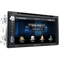 "Soundstream - 6.5"" - CD/DVD - Built-In Bluetooth - In-Dash Deck with Remote - Black"