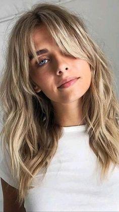 Medium Length Hairstyles, Long Fringe Hairstyles, Hairstyles Haircuts, Layered Hairstyles, Short Haircuts, Natural Hairstyles, Medium Length Haircuts, Fine Hair Haircuts, Bang Haircuts