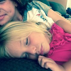 Fell asleep on me after swimming